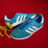 Кроссовки Adidas Samba оригинал натур замша 33-34 размер