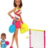 Набор Барби теннисный корт / Кукла Барби/ Barbie Careers Tennis Coach Playset