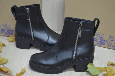 bfde1a114 Женские кожаные ботинки Турция демисезонные: 1450 грн - женские ...