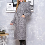 Пальто Р-1 букле-серый