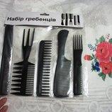 Набор расчесок 5 шт для профессионалов, для укладки причесок и стрижки волос. парикмахеру
