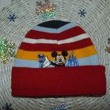 3-6лет.Яркая шапка Disney Mikki Maus.Мега выбор обуви и одежды