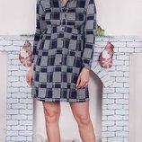 Платье-Рубашка 42-50 р