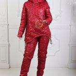 Супер зимний костюм на овчине, р.42-44, 46-48, скинули цену