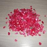 Камушки для декора - цвет Малиновый