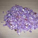 Камушки для декора - цвет Фиалковый