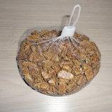 Камень декоративный 0.5 кг - цвет Коричневый