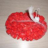 Камень декоративный 0.5 кг - цвет Красный