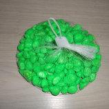 Камень декоративный 0.5 кг - цвет Салатовый