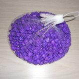 Камень декоративный 0.5 кг - цвет Фиолетовый