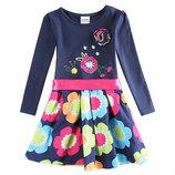 Платье в цветочек Neat