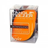 Tangle Teezer Compact Styler On-The-Go Detangling Hair Brush - Orange