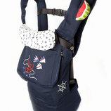 Эрго рюкзак-переноска My baby Морской