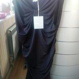 Стильное Черное Платье р-р 40
