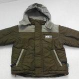 4 kids. Зимняя куртка с капюшоном. 92 размер.