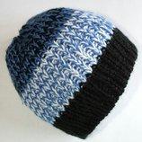 Стильная молодежная тёплая вязаная шапка от Takko Fashion Accessories.