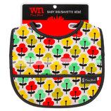 Хлопковый нагрудник с пвх-покрытием и карманом для крошек WN New York