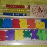 Ігровий розвиваючий набір весела математика