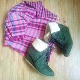 Зеленые ботиночки, 37 размер