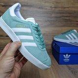 Кроссовки женские Adidas Gazelle mint