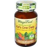 IHerb. Натуральные витамины, MegaFood, kid's one daily, 60 шт. Айхерб.