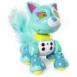 Zoomer Интерактивный котенок Люкс Meowzies Lux Interactive Kitten with Lights Sounds and Sensors