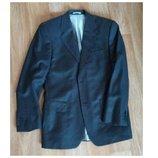 Мужской тёмно-серый пиджак