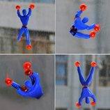 Лизуны Spiderman Лизун-Акробат передвигается по стене