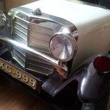 Детский электромобиль SUPER AUTO Mercedes RETRO
