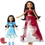 Disney Принцессы диснея Набор кукол принцессы Елены и её младшей сестры Изабель Elena of Avalor & Pr