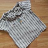 Фирменная блузка Next малышке 1-1,5 года состояние отличное