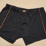 Легкие черные эластичные плавки-шорты большого размера Herald 9.