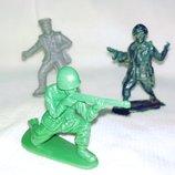 Цена за 3.Солдатик игрушка фигурка