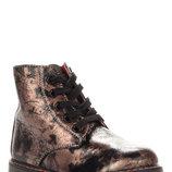 Ботинки для девочки M565-1 Jong Golf коричневые 22, 23, 24, 25, 26, 27 Демисезонные ботинки для дев