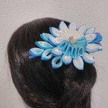 Заколка стрела для волос девочке голубая