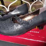 Туфли девочке р.39 кожа правильная колодка