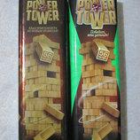 Настольная игра Power Tower Vega Jenga Башня Дженга Джанга Баланс Вега