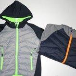 Термо куртка на флисовой подкладке для мальчиков F&D Венгрия