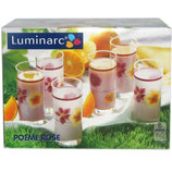 Набор стаканов высоких LUMINARC Poeme Rose 6 пр. D2159