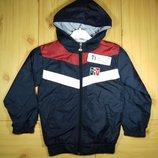 Детская куртка ветровка для мальчика рр. 116-164 Beebaby Бибеби