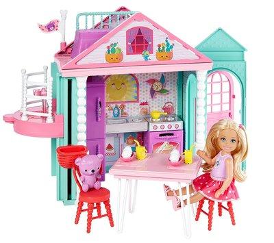 Barbie Домик Челси Клуб Барби Club Chelsea Playhouse Playset