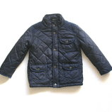 Стеганная куртка на флисе весна, осень для мальчика 1,5-2 лет