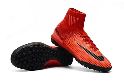 07b4ae66 Футбольные кроссовки сороконожки Nike Mercurial Superfly V TF Fire Red