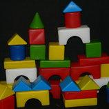 кубики Маленький строитель крупные