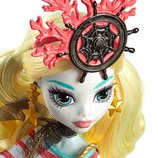 Monster High Shriekwrecked Nautical Ghouls Lagoona Blue Doll - Лагуна Блу з піратської серії. Пират.