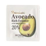 Эссенция с высокой питательной ценностью, Skinfood Premium avocado rich essence 1ml