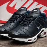 Кроссовки Nike TN Air Max,женские,кожа,темно-синий