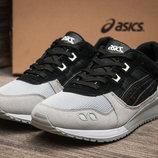 Кроссовки ASICS Gel Lyte III, мужские,замша,черный,серый