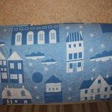 Баевое и шерстяное одеяло в детскую кроватку Тм Руно
