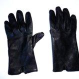 Кожаные перчатки р.S шир. 9,5см, дл. среднего пальца 7,5